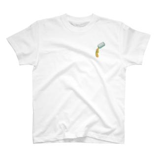 アルミカンの中にあるミカン T-shirts