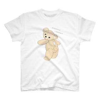 ぼろぼろテディベア ほつれちゃったの… T-shirts