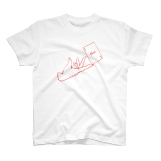 トランプと手 ver.ハート(2) T-shirts
