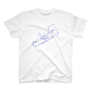 トランプと手 ver.スペード(2) T-shirts