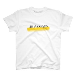 落書きパロディロゴ T-shirts