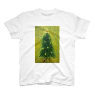クリスマスの木 T-shirts