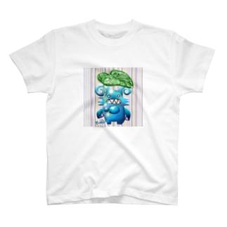 グリちゃんと里芋傘 T-shirts