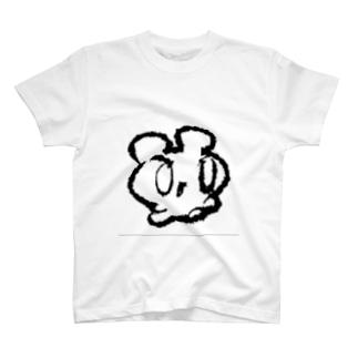みゅーみゅーつよき線入り T-shirts