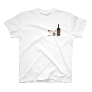 地下酒 T-shirts