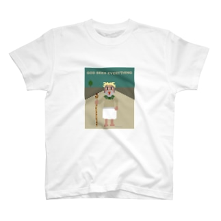 keihammのGOD SEES EVERYTHING 3 T-shirts