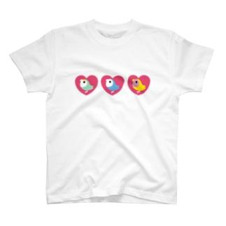 3 HEART KOZAKURA T-shirts