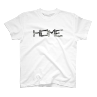 HOME公式グッズ T-shirts