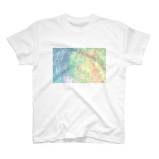 ふちこのFull moon T-Shirt