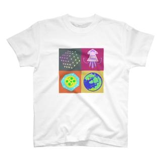 ランドスケープと夏の定理 あわい T-shirts