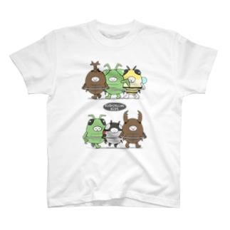 きぐるみキッズ(昆虫) T-shirts