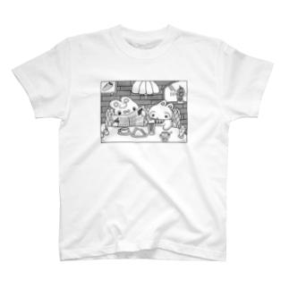 レトロな喫茶店🍮 T-shirts