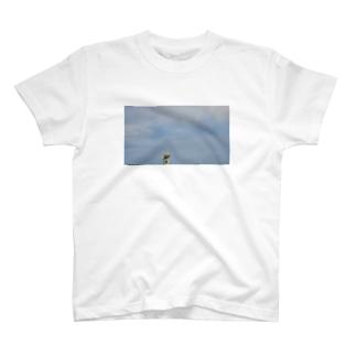 こがちゃんの大空と大地とレオくん T-shirts