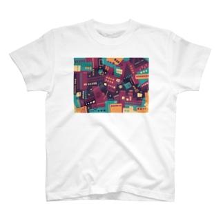 ★NEW!【心癒される抽象画オリジナルTシャツ#33】 T-shirts