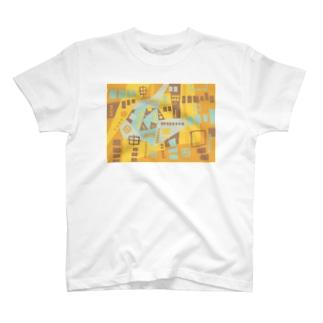 ★NEW!【心癒される抽象画オリジナルTシャツ#44】 T-shirts