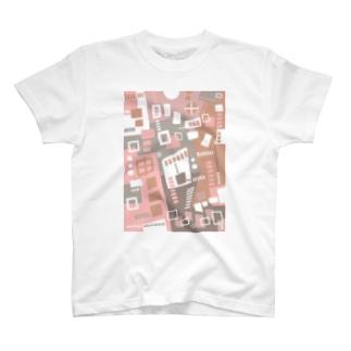 ★NEW!【心癒される抽象画オリジナルTシャツ#45】 T-shirts