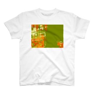★NEW!【心癒される抽象画オリジナルTシャツ#46】 T-shirts
