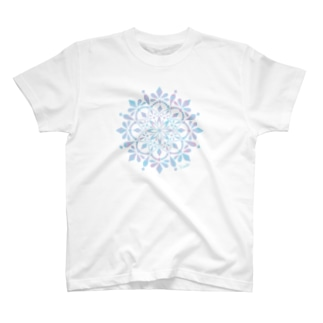 MANDARA-light blue small ver- T-shirts