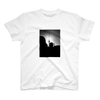 ドイツ ベルリンの風景3 T-shirts