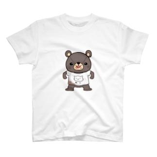 わんぱくま T-shirts