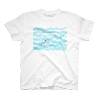 ちっこいマルティ海 T-shirts