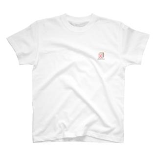 SHAKE HANDS 赤五筒(麻雀) T-shirts
