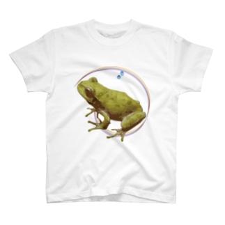 梅雨カエル T-shirts
