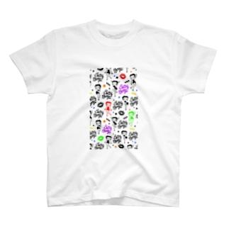 マルチ ベティ T-shirts