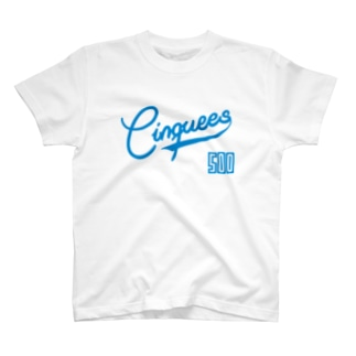 Cinquees_両面 T-shirts