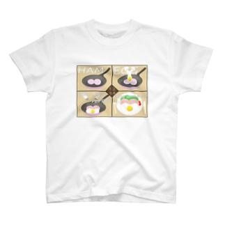 ハムエッグクッキング T-shirts