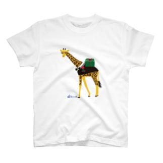 メガネキリン君 T-shirts