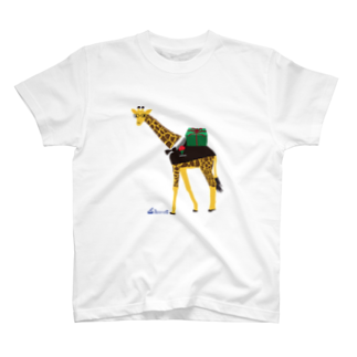 3pondSのメガネキリン君 T-shirts