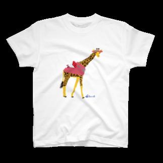 3pondSのキリンちゃん T-shirts