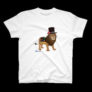 3pondSのライオンくん T-shirts