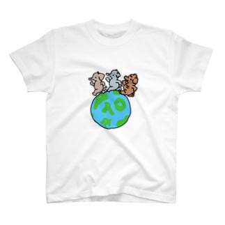 世界パオの日 T-shirts