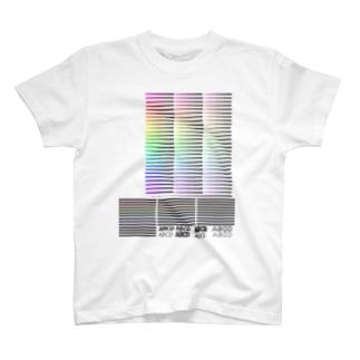 カラーチャート T-shirts