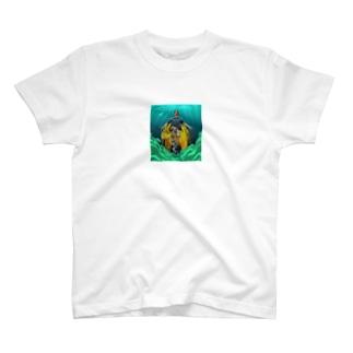 スコットバック T-shirts