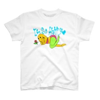 はぴはぴー T-shirts