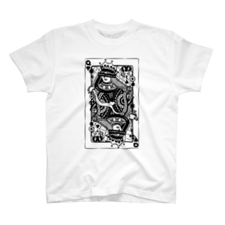 不思議の国のアリス-ハートの女王トランプ T-Shirt
