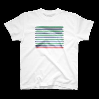 3pondSのえんぴつ Tシャツ