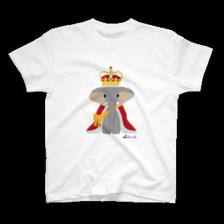 3pondSのゾウの王様 Tシャツ