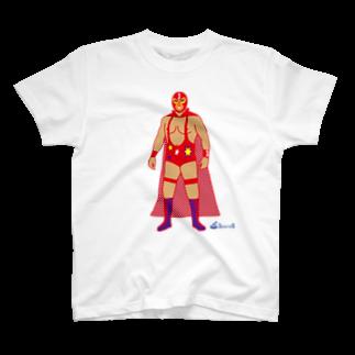 3pondSのRed Rucha T-shirts