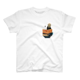 ポケットからの『叫び』 T-shirts
