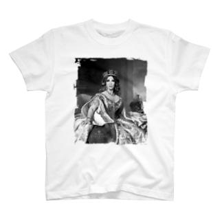 Queen II(BW) T-shirts