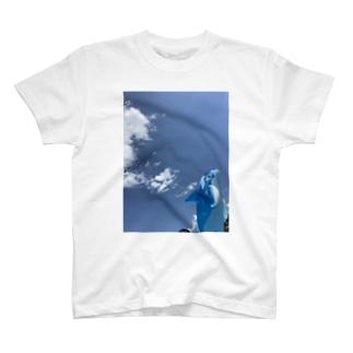 夏を感じる青 T-shirts