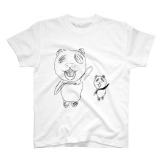 ションとマオ T-shirts