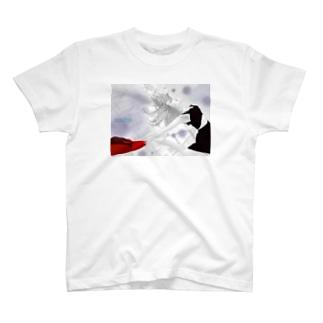 空までジャンプ T-shirts