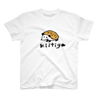 kiitigoさんのハリネズミ T-shirts