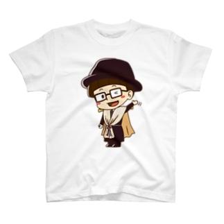 カーテンマンJr.(バイバイ)のTシャツ T-shirts