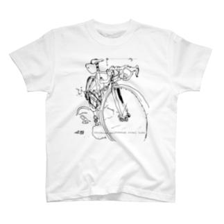 chromium molybdenum steel bike T-shirts